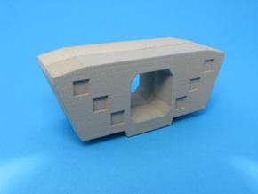 HO/1:87 Precast concrete bridge segment fill (smal in White Strong & Flexible