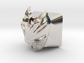 Cherry MX Kurosaki Mask Keycap in Platinum