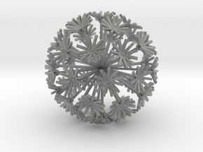 Small Dandelion in Metallic Plastic