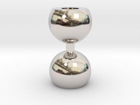 Ikebana Vase-10 in Platinum