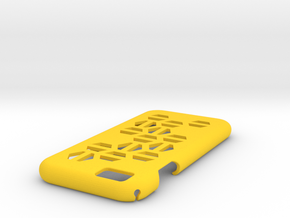 IPhone 6 Case HEX in Yellow Strong & Flexible Polished