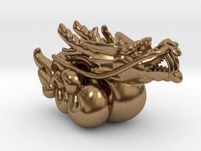 Legend of Kirin Pendant in Natural Brass