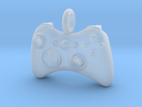XBox 360 Controller Pendant in Smooth Fine Detail Plastic