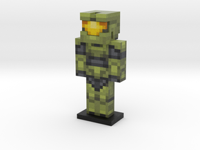 Master Chief in Full Color Sandstone