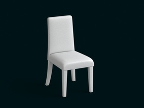 1:39 Scale Model - Chair 03 in White Natural Versatile Plastic