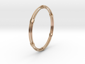 CircuitoCuatroPrecious in 14k Rose Gold