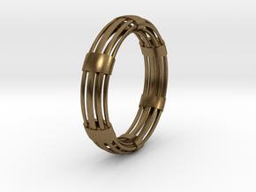 CircuitoOcho in Natural Bronze