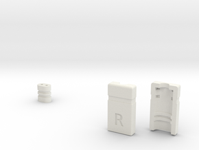 UE Earbud Connector R Final B in White Natural Versatile Plastic