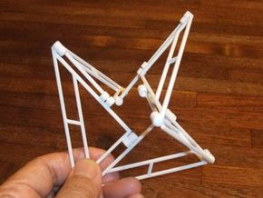 Triangle-6 in White Natural Versatile Plastic