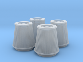 1/24 K&N Cone Style Air Filters TDR 4930 in Frosted Ultra Detail