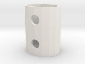 Remote control folder in White Natural Versatile Plastic