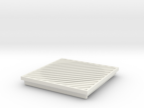 SP3 Duct Cover in White Natural Versatile Plastic