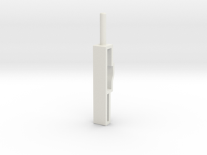 Kfk 0021368 Popychacz Microswitch in White Natural Versatile Plastic