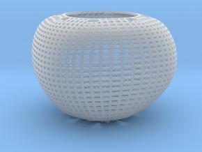 Chandelier (round wireframe) in Smooth Fine Detail Plastic