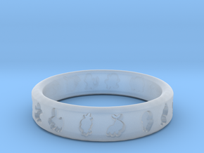 PokemonRing - Size 11 Test in Smooth Fine Detail Plastic