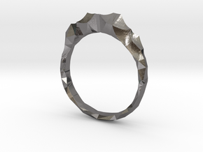 shard ring in Polished Nickel Steel