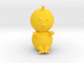 Duckling in Yellow Processed Versatile Plastic