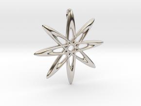 Atomic Pendant in Platinum