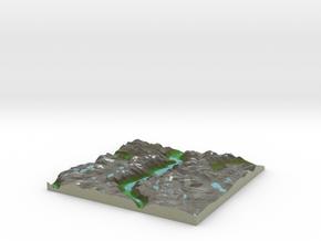 Terrafab generated model Sun Sep 14 2014 17:07:18  in Full Color Sandstone