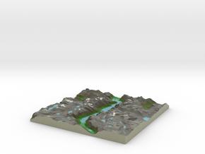 Terrafab generated model Sun Sep 14 2014 17:16:04  in Full Color Sandstone