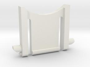 Razer Lycosa keyboard leg in White Natural Versatile Plastic