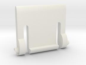 Razer Marauder keyboard leg in White Natural Versatile Plastic