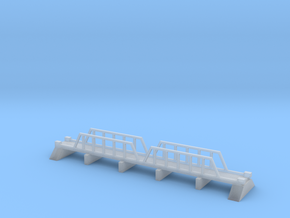 1/600 Steel Girder Road Bridge in Smooth Fine Detail Plastic