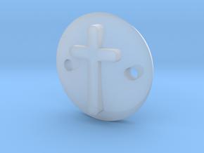Cross bracelet in Smooth Fine Detail Plastic