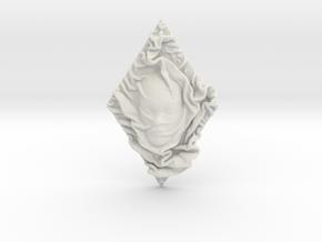 Mystery in White Natural Versatile Plastic