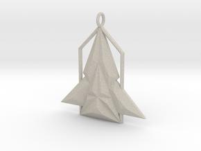 Rocket House Pendant in Natural Sandstone