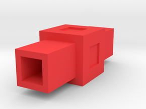 Assembly Parts Small C2 Sym in Red Processed Versatile Plastic