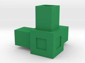 Assembly Parts Small C3 in Green Processed Versatile Plastic