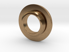Ag Torch: Brass Tail Ring (4 of 4) in Natural Brass