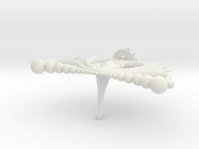Neo Queen Crown- Size M in White Natural Versatile Plastic