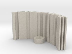 Headphone Stand in Natural Sandstone