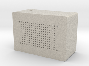 LoudSpeaker Casing in Natural Sandstone