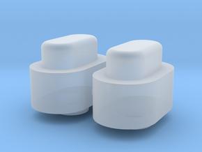 Adjustment Buttons - Plastics in Smooth Fine Detail Plastic