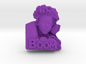 Boom! in Purple Processed Versatile Plastic