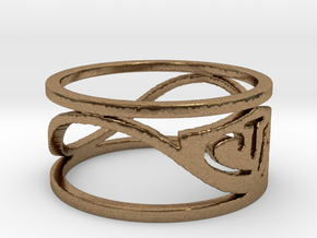CTR Wired (Size 5.75 x 8.8 mm) in Natural Brass