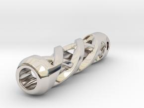 Tritium Lantern 2A (Silver/Brass/Plastic) in Platinum