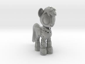 Pony SciFi Armor in Metallic Plastic