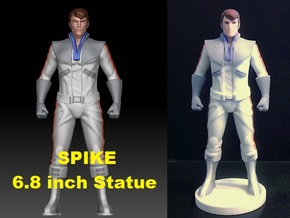 Spike homage Space Man 6.8inch Full Color Statue in Full Color Sandstone