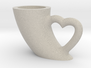 CUP in Natural Sandstone