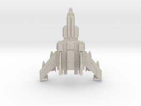 Jetfighter Print 3d Print in Sandstone