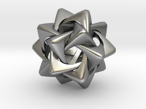 Compound of Five Rounded Tetrahedra in Natural Silver