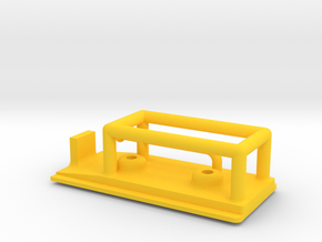 Geod Charge Bracket A in Yellow Strong & Flexible Polished