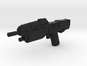Anti Infantry Rifle in Black Natural Versatile Plastic