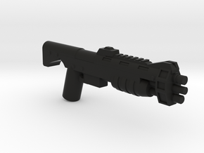 Shell Barrage Shotgun in Black Natural Versatile Plastic