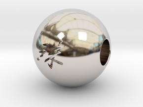 16mm Tama(Pearl) Sphere in Platinum