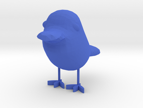 Bird in Blue Processed Versatile Plastic